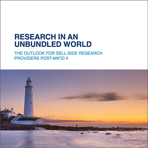 Research in an Unbundled World