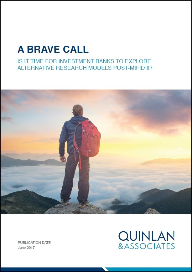 Quinlan & Associates Insights: A Brave Call