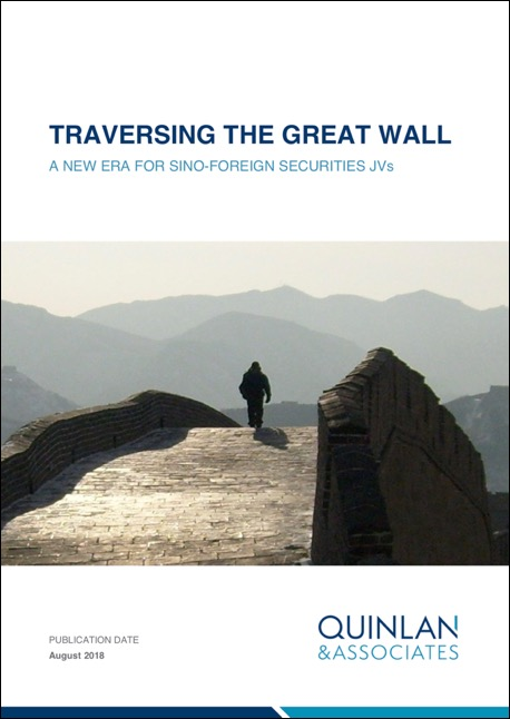 Quinlan & Associates Insights: Traversing The Great Wall